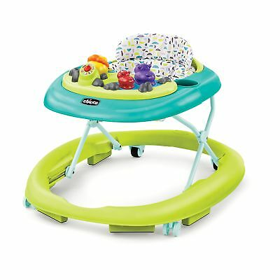 Chicco Multi Lingual Baby Infant Walky Talker Activity Bouncer Walker, Spring