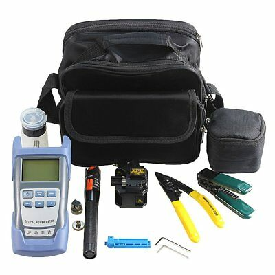 Fiber Optic FTTH Tool Kit with SKL-8A Fiber Cleaver and Optical Power Meter M4