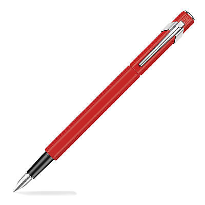 Caran d'Ache 849 Season's Greetings Fountain Pen - Broad Pt -Red Limited Edition
