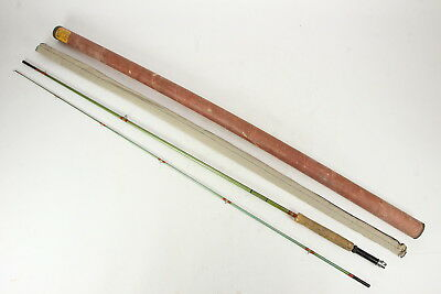 South Bend Hollow Glass Fly Rod 2-Pc In Sleeve #3270 8 1/2 Ft Fishing Pre-1960
