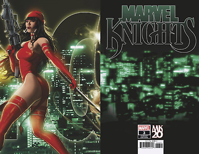 Marvel Knights #3 20th anniversary nm Connecting variant Cates Elektra 9.4+