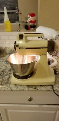 RARE VINTAGE SUNBEAM MIXMASTER POWER PLUS W/ Gentle Touch Control