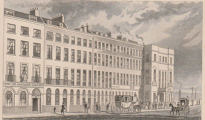 1846 Six Antique Prints - LONDON - Southwark -Blackfriars -Shoreditch -Cheapside