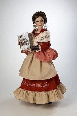 MARIE OSMOND *Bold Woman and The Shoe * Porcelain 24-inch Doll, Charisma Brand