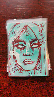 Chenduz Sketch Card Island Dreams 2018