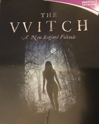 The Witch A New England Folktale        Hd Code Uv Ultraviolet Code Only