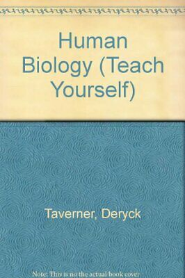 Human Biology (Teach Yourself) by Taverner, Deryck Hardback Book The Cheap Fast