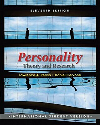 Personality: Theory and Research by Cervone, Daniel Paperback Book The Cheap