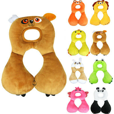 Baby Kids Head Neck Support Pillow Headrest Travel Car Seat Cushion U Shaped AU