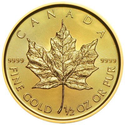 20 Dollar Canada 2019 BU - 0,5 OZ Gold Maple Leaf 2019