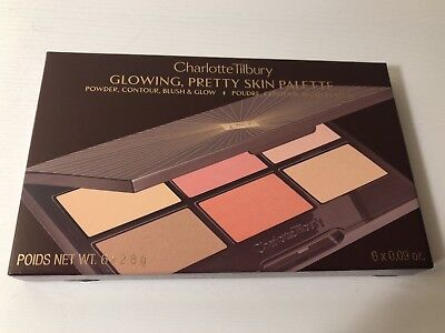 Charlotte tilbury GLOWING, PRETTY SKIN PALETTE FACE PALETTE Limited edition