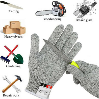 Anti-Cutting Cut Resistant Gloves Food Grade Level 5 Kitchen Butcher Protection