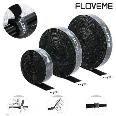 FLOVEME 1/3/5m Cable organizer Cable winder Protector for charger Cable headset