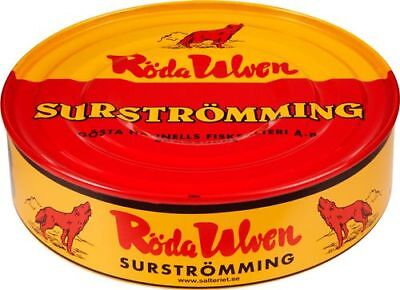 Surstromming (Swedish surströmming, fermented herring) 400g