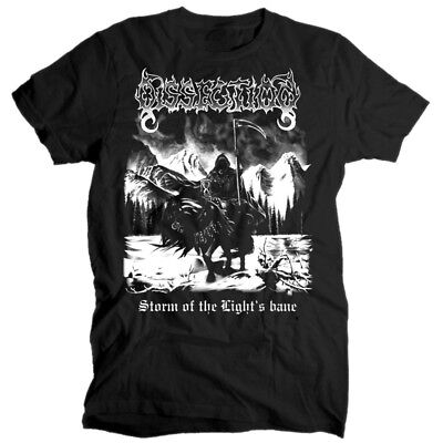 Dissection Storm of the Light's bane album BLACK T SHIRT cotton all sizes S-5XL