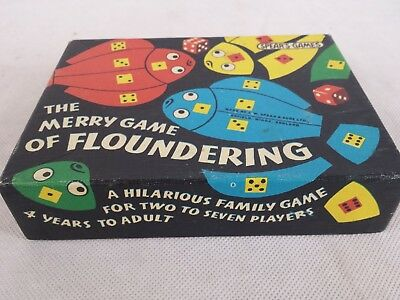 The Jolly Game of Floundering Vintage Spear's Games (complete)