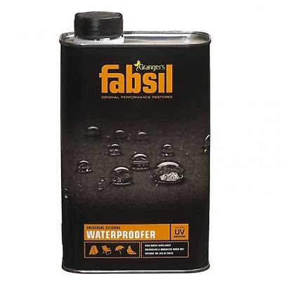 1 Litre Grangers Fabsil UV Waterproofing Sealant Tent Awning