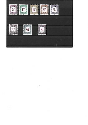 Seychelles - Postage Due Stamps 1980 - Mnh
