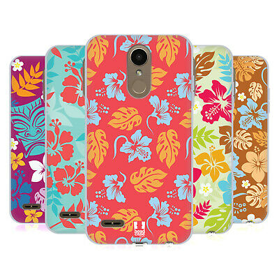 Head Case Designs Hawaiian Patterns Soft Gel Case For Lg Phones 2