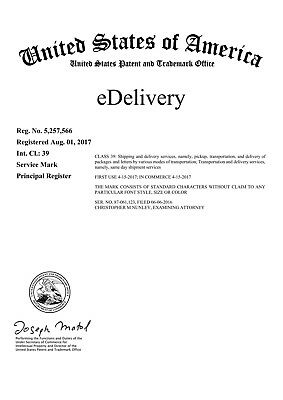 "Registered Trademark for sale ""eDelivery"""