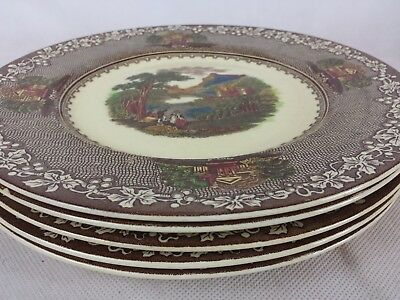 Royal Staffordshire Pottery England Jenny Lind 1795 [5] dinner plates