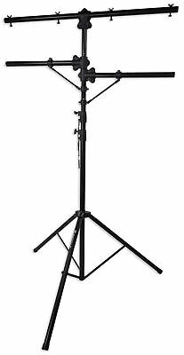 Rockville RVLS1 Tripod Lighting Tree Stand For Church Stage Performance Design