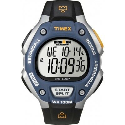 TIMEX T5E931 IRONMAN 30-lap Running Watch Mid-sized Mens & Ladies Unisex NEW