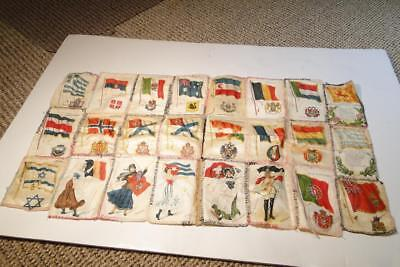 Vintage Nebo Cigarettes Silk Flag Textile 24 in All