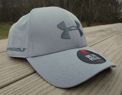 e64365e044c NWT UNDER ARMOUR CoolSwitch Driver 2.0 Mens Adjustable Golf Hat-OSFM   32  GRAY