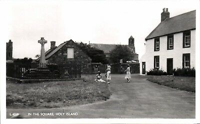Holy Island. In the Square # L 4028 by Lilywhite.