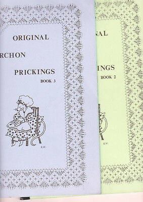 2 Torchon Lace Booklets 2 And 3