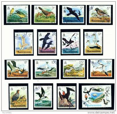 ASCENSION - 1978 Birds Set Used as Scan