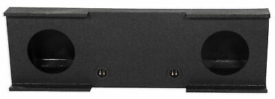 "Dual 10"" Subwoofer Sub Box For 2007-2013 Chevy Silverado/GMC Sierra Crew Cab"