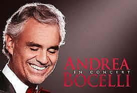 2 Tix to Andrea Bocelli @ Hollywood Bowl: Super Seats Section G1 Row 6 Center
