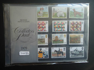 Great Britain Commemoritives Collectors Pack 1979 MNH CAT £12 (71007/2)