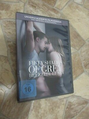DVD - Fifty Shades of Grey - Befreite Lust - Unverschleierte Version