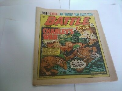 BATTLE ACTION Comic 2nd May 1981