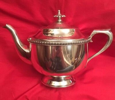 Vintage Silver Plated 1.5 Pint Teapot By Viners Of Sheffield c.1960's
