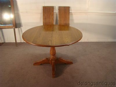 """49614: Knobcreek Solid Oak 44"""" Round Dining Table"""