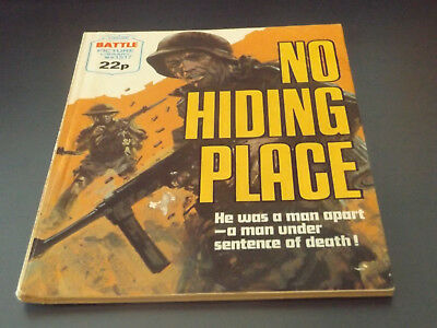 BATTLE PICTURE LIBRARY NO 1517,dated 1982!,V GOOD FOR AGE,VERY RARE,36 yrs old.