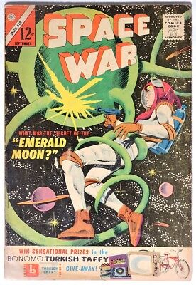 S359. SPACE WAR #24 Charlton Comics 3.0 GD/VG (1963) SILVER AGE, 12 Cent Issue