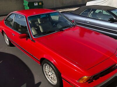 1989 BMW 6-Series 635CSI 1989 BMW 635csi, E-24 (Loaded) 3.5 Liter 6 Cylinder