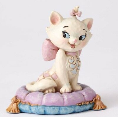 Jim Shore Disney Traditions Aristocats Mini Marie on Pillow Figurine 4054288 Cat