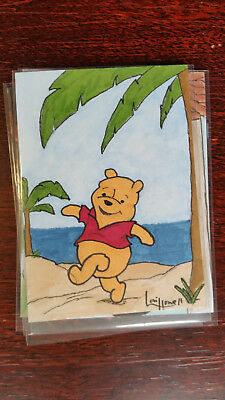 Lori Howell Sketch Card Island Dreams 2018 Original Art Pin Up
