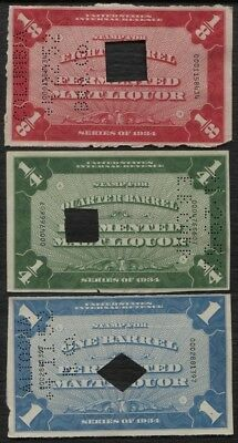 Beer Tax revenue stamps lot of 14