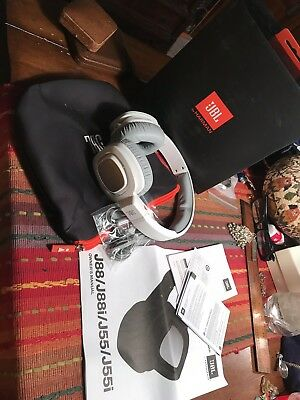 JBL by HARMAN J88i Over Ear Headphones With JBL Pure Bass And Mic/Remote