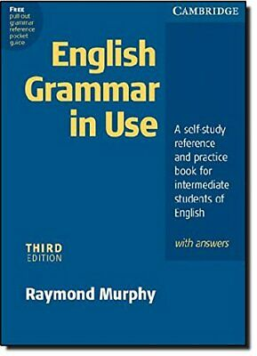 English Grammar In Use with Answers: A Self-stud... by Murphy, Raymond Paperback