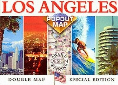Los Angeles (USA PopOut Maps) by Compass Maps Sheet map Book The Cheap Fast Free