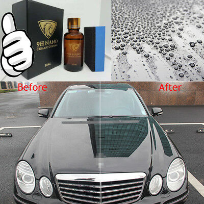 Liquid Glass 9H Nano Hydrophobic Ceramic Coating Car Polish Anti-scratch Auto #W