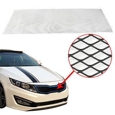 Black Aluminium Car Bumper Grille Grill Mesh Net Vent 10x5mm 100x33cm CT2023 New